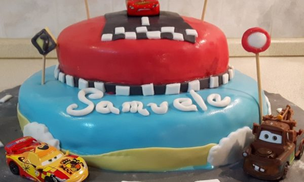 Torta di Compleanno di Cars