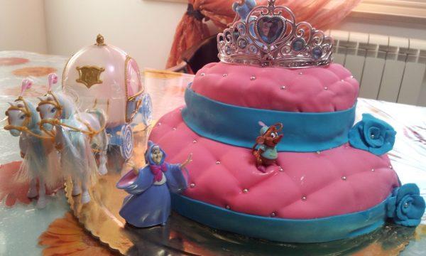 Torta Cenerentola ( idea per un compleanno di bambina)