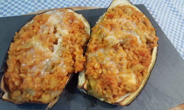 Video Ricetta, Risotto al piatto di Melanzana