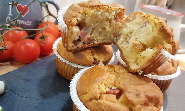 Video Ricetta, Muffin prosciutto e formaggio