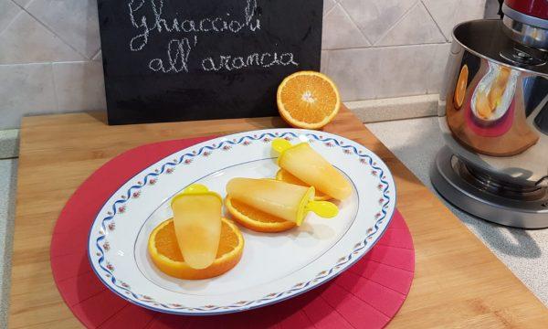 VideoRicetta Ghiaccioli all'Arancia
