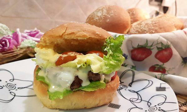 VideoRicetta Panini per Hamburger