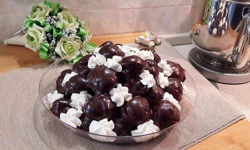 VideoRicetta Profiteroles al Cioccolato