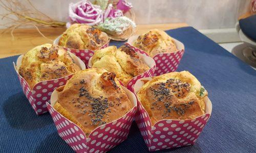 VideoRicetta Muffin al Salmone e Zucchine