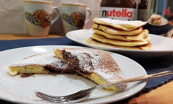 VideoRicetta Pancake alla Nutella