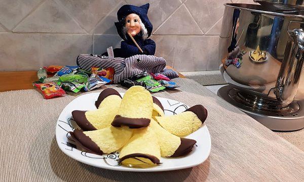 VideoRicetta Patatine al Cioccolato