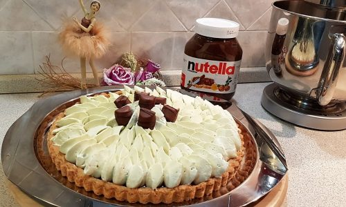 VideoRicetta Crostata alla Namelaka al Pistacchio e Nutella