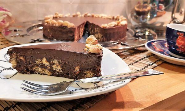 VideoRicetta Torta Biscottino al Cioccolato