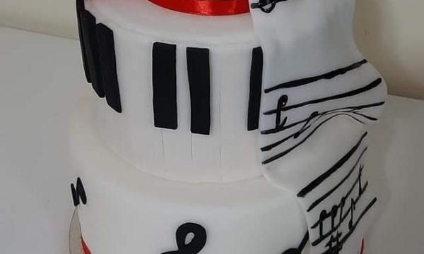 Torta Tema Musica