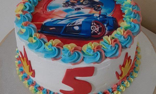 Cake Hot Wheels