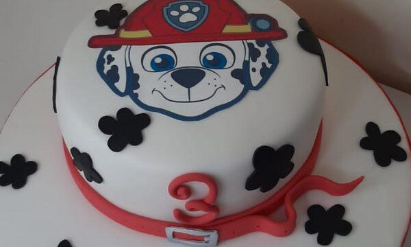 Cake Paw Patrol Marshall🐶🐶🐶🐶🐶🐶🐶