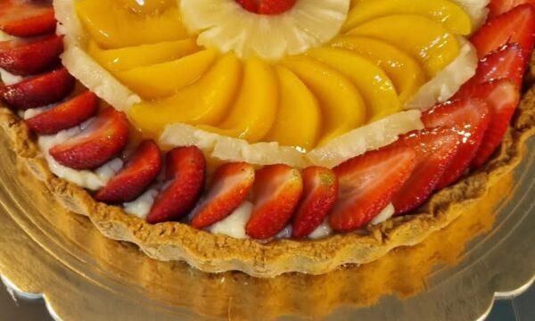 Crostata di Frutta 🍍🍍🍍🍍🍑🍑🍑🍑🍑🍒🍒🍓🍓🍓🍓🍇🍇🍇🍇🍈🍈🍈
