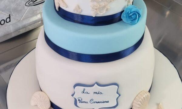 Torta Comunione #sea 🌊🌊🌊🌊🌊🌊🌊🌊