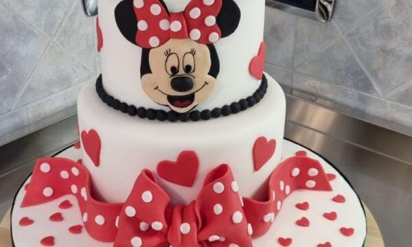 Minnie Cake Isama❤❤❤❤❤
