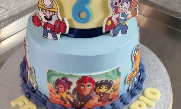 Brawl Stars Cake 2.0