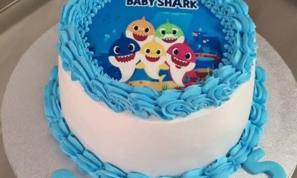 Baby Shark Cake 🐋🐋🐋🐋🐋🐋🐋🐋🐋🐋